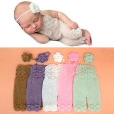 Newborn Soft Mohair Baby Boy Girls Knitted Romper Outfit Photography Props