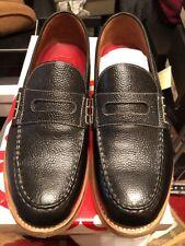 3294818a883 Grenson Jack slip on Loafer Black Leather Size 10 Spring summer