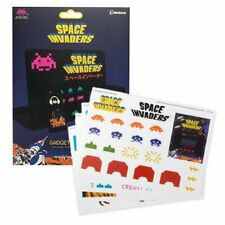 Space Invaders Gadget Decals, Set of 60 Vinyl Stickers