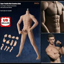 1/6 Scale Normal Skin Seamless Male Figure Body w/ Steel Skeleton for Phicen US