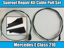MERCEDES BENZ E-CLASS 210 Sunroof Repair Kit Cable Pull Set Right and Left