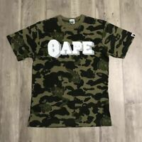 A BATHING APE BAPE KAWS 1st Camo TEE Size S Made in Japan Vintage Very Rare