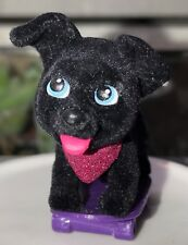 Puppy in My Pocket Barbie Exclusive: Black Labrador Retriever on a Skateboard