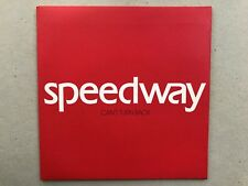 "Rare 7"" Speedway-Can't Turn Back (White Vinyl) (2004)"