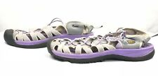 KEEN Whisper Women Hiking Trail Gray Sport Sandals EU 40.5 US 10