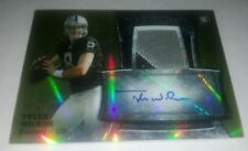 13 Bowman Sterling Tyler Wilson Rookie Gold Refractor Relic Auto /75 (ref 20268)