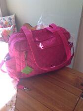 Vera Bradley Make A Change Baby Bag Fuchsia Microfiber Diaper Bag Nwt #12879-478