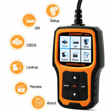 Automotive OBDII Diagnostic Scanner Universal Car Engine Code Reader Scan Tools
