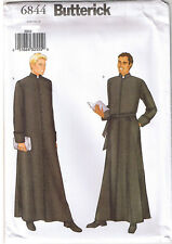 Mens Authentic Style Church Clergy Vestment Robe Butterick Pattern Size 44 46 48