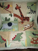 Kidsline Willow Organic Deer 6 Piece Crib Set Ebay