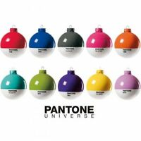 Pantone Universe Christmas Baubles Choice of colours. Not perfect print quality