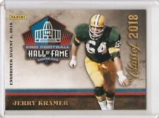 Panini Class of 2018 Jerry Kramer Hall of Fame card - Unsigned - Packers