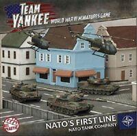 Team Yankee Nato's First Line Nato Tank Company FOW TNAAB1