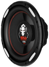 "New Boss P100F 10"" 1200 Watt Car Shallow/Slim Subwoofer Power Sub Woofer Audio"