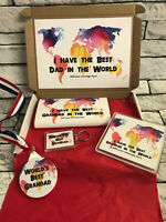 Personalised Best Grandad in the World Hamper - Fathers Day Birthday - Fun Gift
