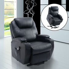 elektrischer Fernsehsessel mit Aufstehhilfe schwarz