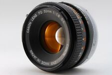 【Excellent+】Canon FD 50mm f/1.8 S.C SC Manual Lens From Japan #104