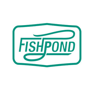 Fishpond Thermal Die Cut Sticker - Double Haul