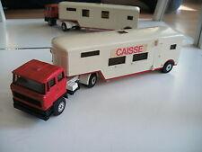 Solido Daf 2800 Cirucs Amar + trailer Caisse in Red/White