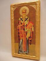 Saint Peter Petros Bishop of Argos Icone Ikona  Byzantine Greek Orthodox Icon