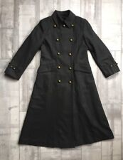 Jones New York Double-Breasted Wool Blend Maxi Coat Size: Petite 4