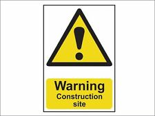 Scan - Warning Construction Site - PVC 200 x 300mm
