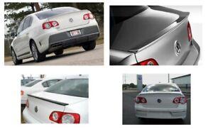 OEM VW Volkswagen Passat Rear Spoiler Lip Fin Factory Painted White Gold LR7L