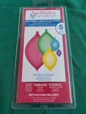 Spellbinders Nestabilities - CUT EMBOSS STENCIL - 2012 Heirloom Ornaments  -...