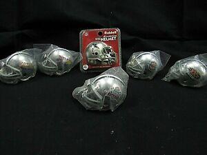 Riddell Pocket Helmets 6 Piece Lot Super Bowl 6, 7, 27, 28, 30 Plastic