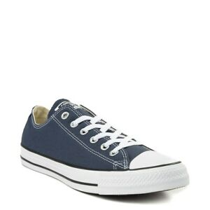 Converse All Star Low Womens & Mens Canvas Chuck Taylor Trainers Shoes Navy