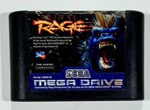 SEGA Mega Drive PRIMAL RAGE Cartridge PAL Arcade/Beat'em Up/Dinosaurier/Yeti