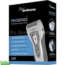 Lloytron Paul Anthony Men's Foil Shaver Trimmer Pro Series Rechargeable Cordless