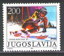 Yugoslavia1987 Sc1837  Mi2215  1v  mnh  1987 World Alpine Skiing Championships