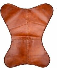 Leather Butterfly Chair Brown Leather Handmade Cover Outdoor Indoor Vintage Room