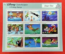 Zayix - 1987 Grenada 1545a miniature sheet - Disney / Peter Pan