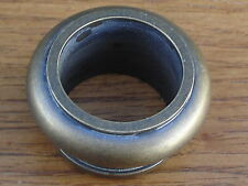 4 New Solid Brass Leg Collar Ring Cabinet/Furniture Hardware~Woodorking