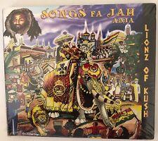 Abja 'Songs Fa Jah' CD Lionz Of Kush (2013) Roots Reggae Brand New Sealed Rare!