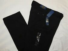 POLO RALPH LAUREN Classic Fit Chino Pants Bedford Big & Tall Black Choose Size