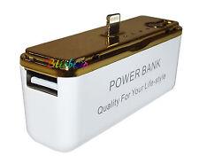 POWER BANK BATTERIA ESTERNA PER IPHONE 5 IPAD MINI 2600 MAH MICRO USB EMERGENZA