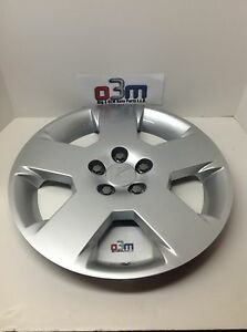 2007-2009 Saturn Aura Silver Steel 5 Spoke Wheel Cover Hub Cap new OEM 9597706