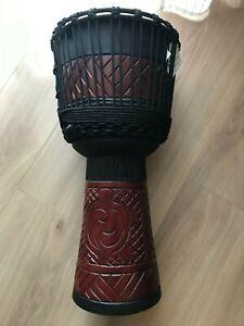 Djembe Trommel Mahagoni 60cm Neu mit Tasche