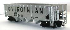 TYCO HO SCALE VIRGINIAN VGN 2610 4 BAY HOPPER MODEL RAILROAD TRAIN CAR