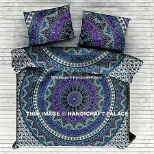 Indian Star Elephant Bed Cover Queen Bed sheet Boho Mandala Tapestry Bedding Set