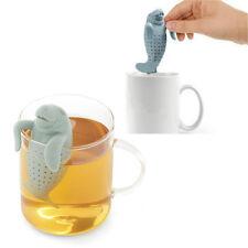 11x5x4cm Tea Infuseur à Thé Lâche Silicone Passe Filtre Passoire Infuser dauphin