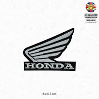 HONDA Wing Motor Bike Brand Logo Patch Iron On Patch Sew On Embroidered Patch