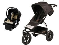 Mountain Buggy Urban Jungle Travel System in Black with Protect Car Seat +Base!!