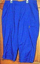 NEW COBALT BLUE WOMENS/GIRLS CAPRI BY ALIA FROM THE DENIM CHERRY GROUP SIZE 18