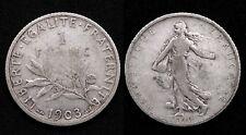 1 Franc 1903 Semeuse - Argent 835°/00