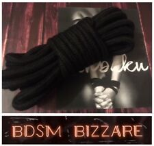 Bondage rope restraint harness shibari bondage kit roleplay +Free guide ....