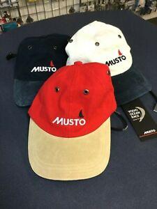 MUSTO SAILING CAPS